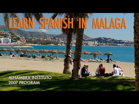 Learn Spanish in Malaga Spain - Spanish Courses in Malaga - Spanish language courses