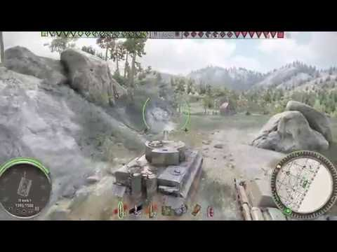 World of Tanks Xbox one Tiger 1 Drowning the enemy