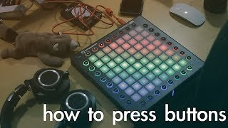 how i play electronic music live
