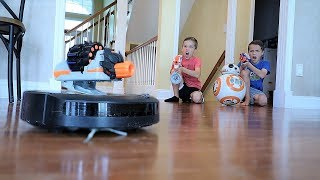Nerf War:  Attack of the Nerf Robots