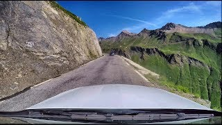 Route des Grandes Alpes driving with Mercedes C300 Musicvideo - Awesome View (Justin Stone)