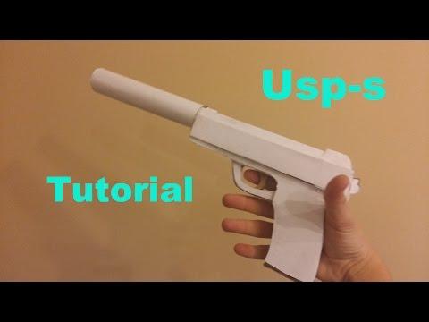 Как сделать usp s из бумаги