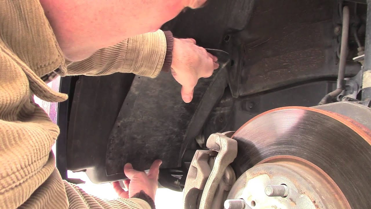 How To Fix Broken Wheel Well Liner Patch Repair Youtube