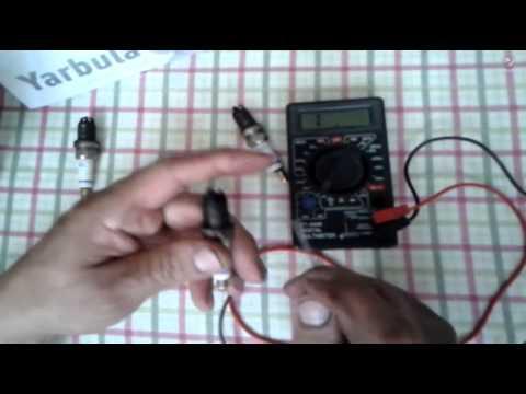 Видео как проверить сопротивление свечи зажигания мультиметром