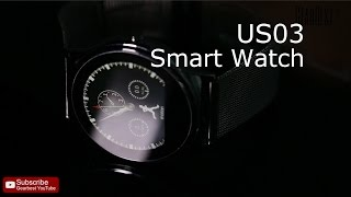 US03 Dual Bluetooth Wristband Smart Watch - Gearbest.com