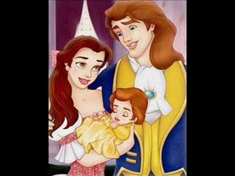 Family beauty and the beast disney princess video fanpop