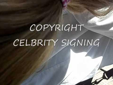 Stone Gossard (Pearl Jam) signing autographs before show Eddie Vedder