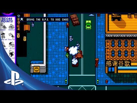 Retro City Rampage for PS3 and PS Vita