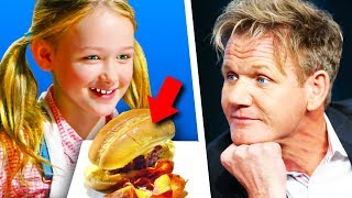 15 Times Gordon Ramsay Actually LIKED THE FOOD! (Part 2)