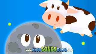 Hey Diddle Diddle The CAT on the Fiddle + NURSERY RHYMES FUN! KidsSongsClub