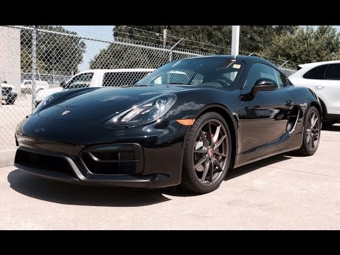 2015 Porsche Cayman GTS Full Review /Start Up / Exhaust