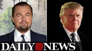 Leonardo DiCaprio Meets With Donald Trump To Discuss Climate Change