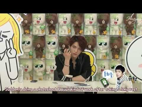 [Engsub] 130311 LINE Chat with Jaejoong (Full)