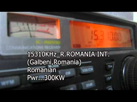 Scanning 19m.band on shortwave with IC-R8500