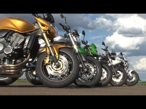 Comparativo 5 Naked - Revista Motociclismo