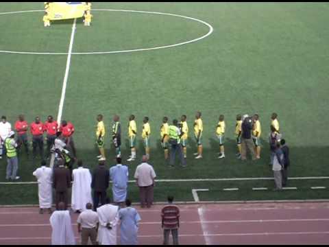 Equipe Nationale Espoir : Mauritanie - Algérie, Hymne nationale de la Mauritanie.