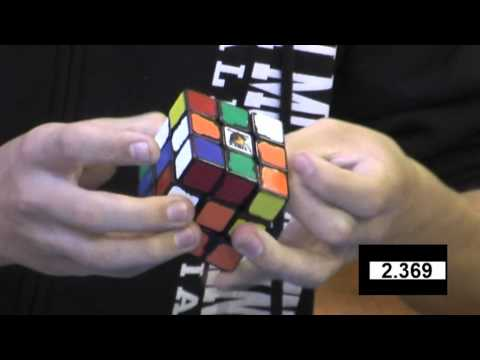 Feliks Zemdegs rubiks cube (former) world record 6.24 - slow motion