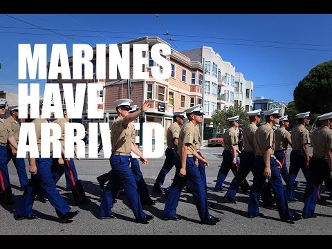 Marines Arrive in Style: Marine Week Seattle