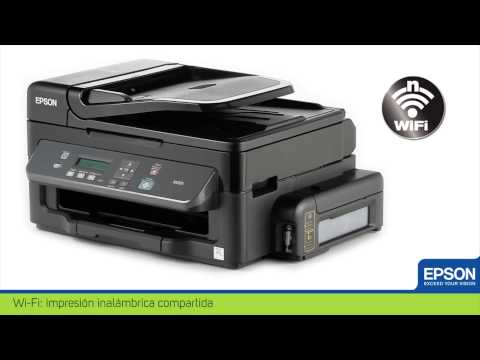 Impresora Multifuncional Monocromática Epson WorkForce M205