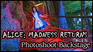Alice: Madness Returns Photoshoot Backstage