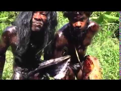 Funny Jamaican Homeless Men Singing NAKED! DWL 2014