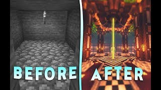 Surprising A Noob With a Brand New Underground Lair | Minecraft Flippers E2