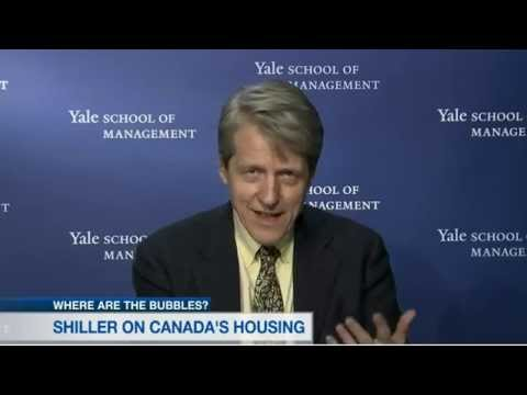 Robert Shiller worried about Canada's home prices