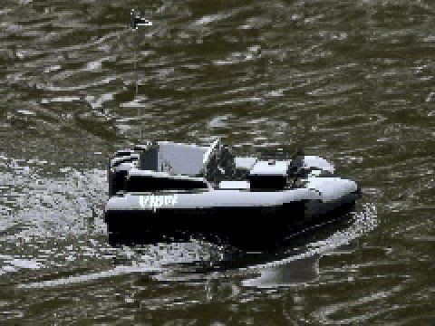 Viper Icon Bait Boat For Carp / Pike Fishing