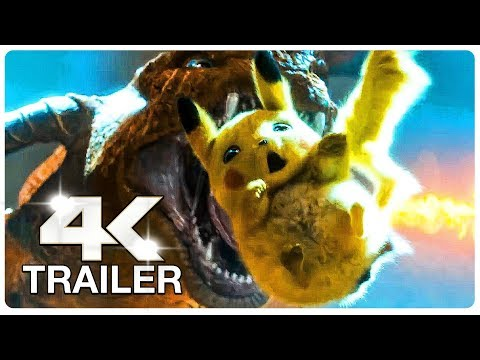 POKEMON Detective Pikachu Trailer (4K ULTRA HD) NEW 2019