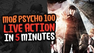 Mob Psycho 100 Live Action Review in 5 Minutes