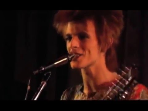 Live Spiders from Mars and David Bowie Ziggy Stardust - Rare Video & Audio