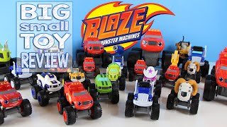 Blaze and the Monster Machines Toy Review Big and Small