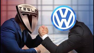 Is Volkswagen AG Tesla's Biggest Threat?