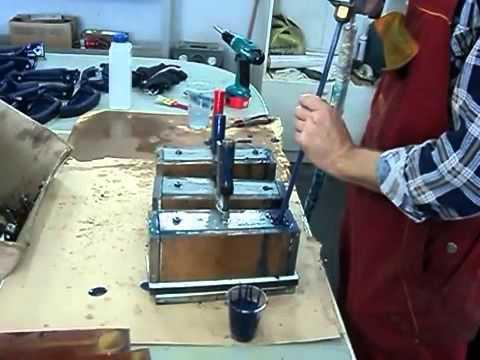 Изготовление изделий литьем полиуретанов под низким давлением