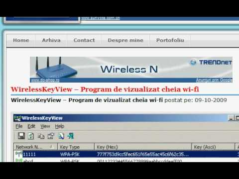 Afla parola de la Wireless |