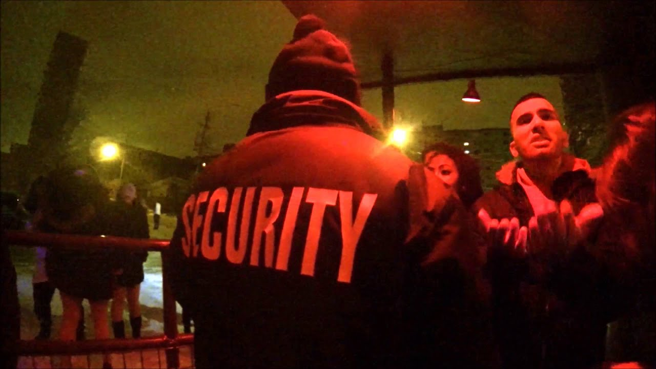 Bouncer Wears GoPro On New Year's Eve Night