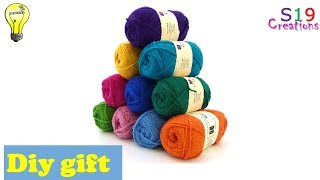 woolen craft ideas | easy and useful diy | Creative crafts | diy arts and crafts | diy gift ideas
