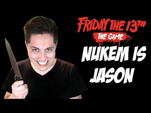 Friday the 13th Game Jason Gameplay NUKEM IS A PSYCHO FUNNY MONTAGE JASON Part 7