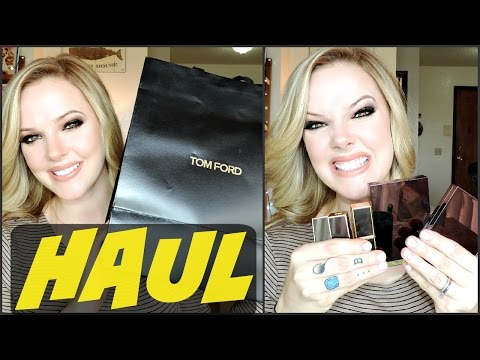 TOM FORD HAUL!!! IT'S HUGE!!!
