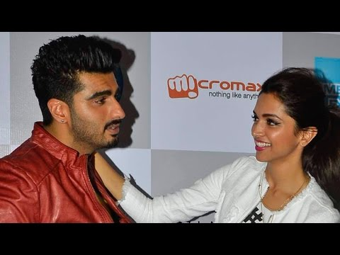Deepika Padukone And Arjun Kapoor Have Fun At Vogue's Night Out
