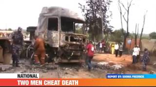 #PMLIVE: TWO MEN CHEAT DEATH AFTER A FATAL ACCIDENT