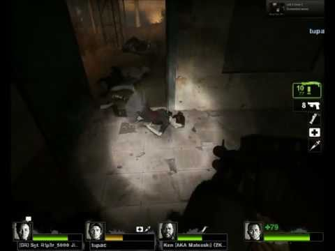 [hd] Left 4 Dead 2: Female Hunter! video