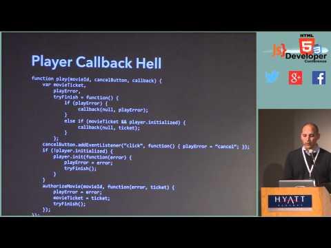 Html5devconf Jafar Husain, Netflix: Asyncronous Javascript At Netflix video