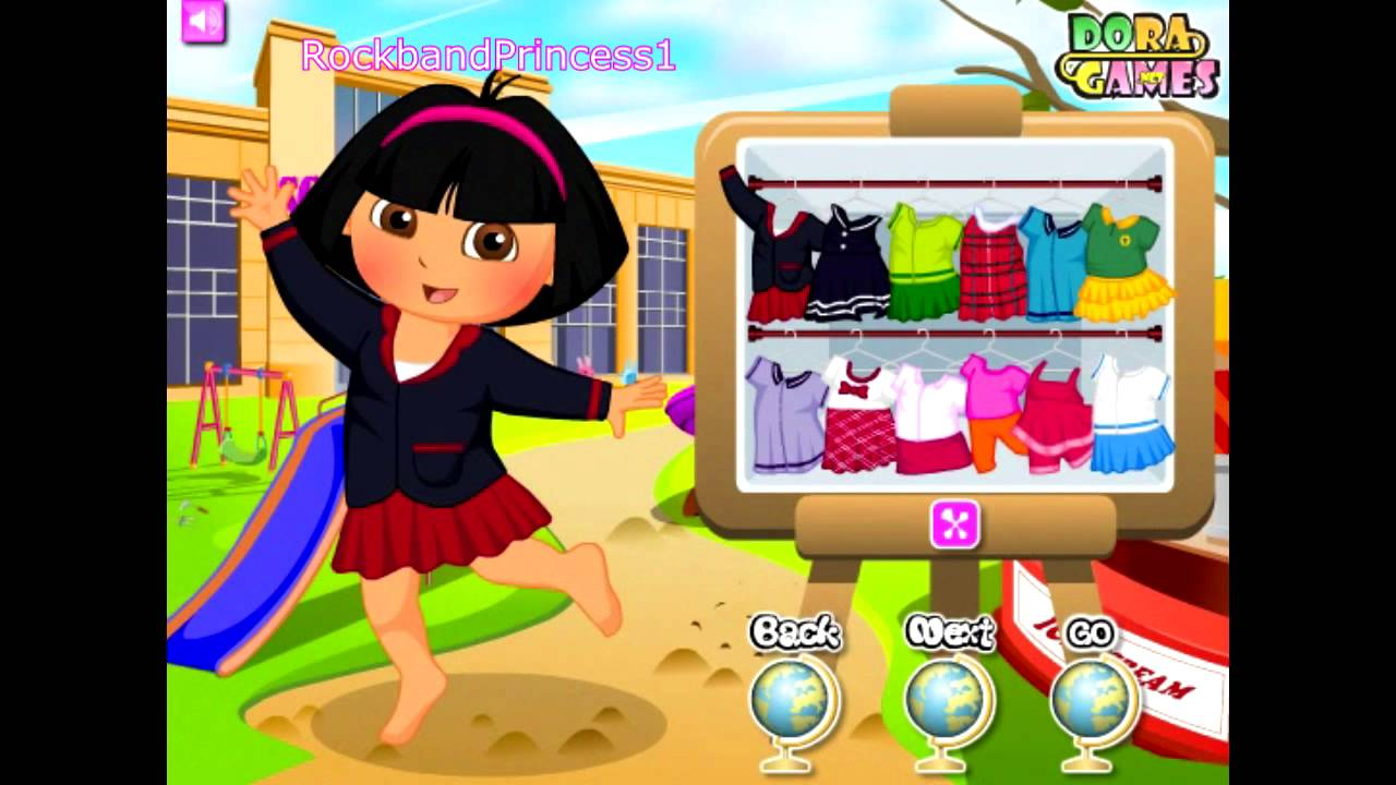 Dora The Explorer Spot The Difference Online - Play Now ...