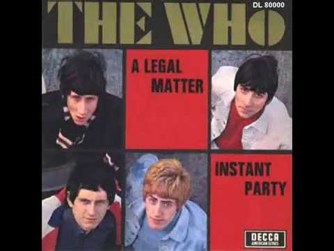 Who - When I Was A Boy