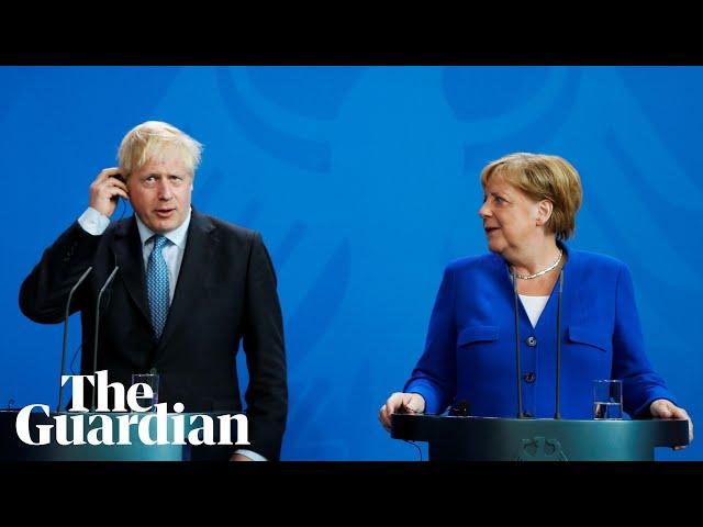 Angela Merkel challenges Boris Johnson to find backstop solution in 30 days