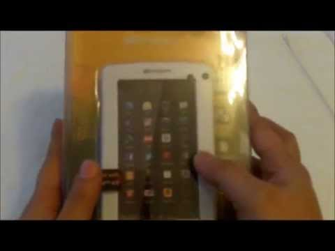 Emerson 4.3 inch Android 4.0 Tablet (BigLots) - Unboxing