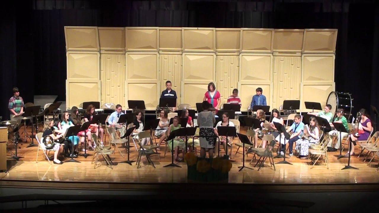Tamaqua Elementary School Band Concert, 2, TASD Auditorium ...