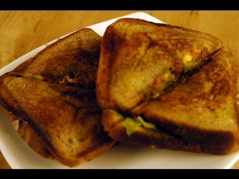 Grilled Sprout Sandwich