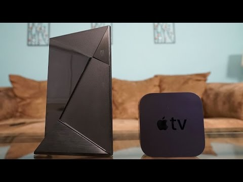 Apple TV (2015) vs Nvidia Shield TV - Full Comparison!